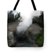 Dragon's Mouth Hot Spring Tote Bag