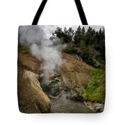 Dragon's Mouth Spring - Yellowstone Tote Bag