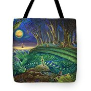 Dragon's Slumber  Tote Bag