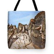 Dragon's Teeth Rocks Tote Bag