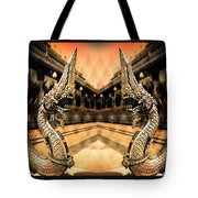 Dragon's Temple Tote Bag