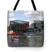 Dragoon Boats - Baltimore Inner Harbor Tote Bag