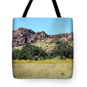 Dragoon Mountains Tote Bag