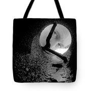 Drain Pipe - Artist Self Portrait Tote Bag