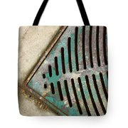 Drained Street  Tote Bag