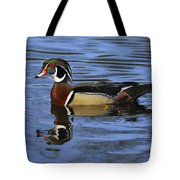 Drake Wood Duck Tote Bag
