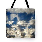 Drama Cloud Sunset I Tote Bag
