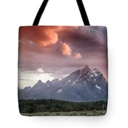 Drama In The Sky Tote Bag