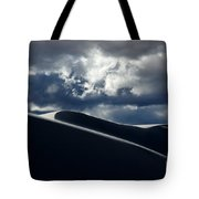 Drama Of The White Sands Tote Bag