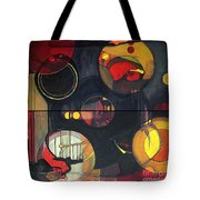 Drama Resolved 1 And 3 Tote Bag