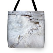 Dramatic Abstract At White Sands Tote Bag