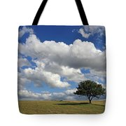 Dramatic Clouds And The Tree Tote Bag