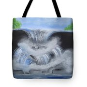 Dramatic Falls Tote Bag