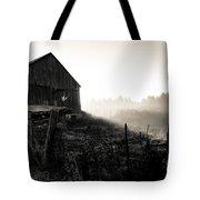 Dramatic Farm Sunrise Tote Bag