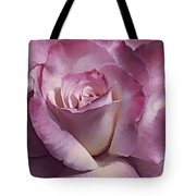 Dramatic Plum Rose Flower Tote Bag