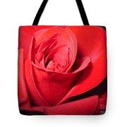 Dramatic Red Rose  Tote Bag