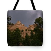 Dramatic Rushmore Tote Bag