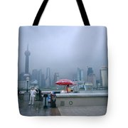 Dramatic Shanghai Tote Bag