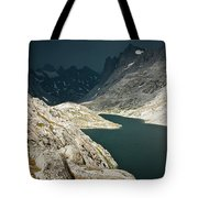 Dramatic Storm Clouds Gather Tote Bag