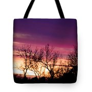 Dramatic Sunrise-l Tote Bag