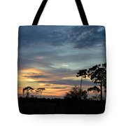Dramatic Sunset In The Cove Tote Bag