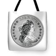 Draped Bust Liberty Tote Bag