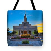 Draper Temple 1 Tote Bag