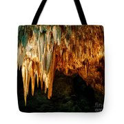 Draperies And Stalactites Tote Bag