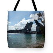 Draw Bridge Open Tote Bag