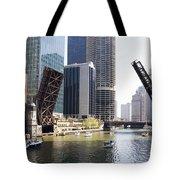 Draw Bridges Of Chicago Tote Bag