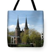 Drawbridge - Delft - Netherlands Tote Bag