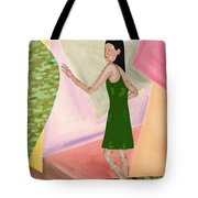 Drawing Back The Veil Tote Bag