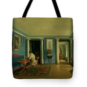 Drawing Room With Columned Entresol  Tote Bag