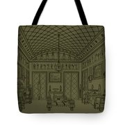Drawing Room With Egyptian Decoration Tote Bag