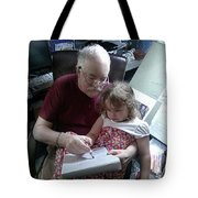 Drawing With Gracie Tote Bag