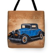Dream Cars Inc. Tote Bag