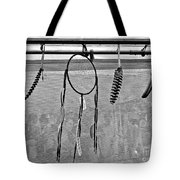 Dream Catcher B W Tote Bag