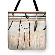 Dream Catcher Raw Tote Bag