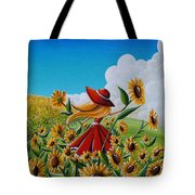 Dream Chaser Tote Bag by Cindy Thornton
