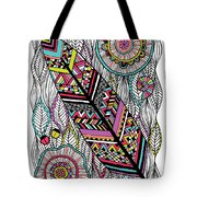 Dream Feather Tote Bag