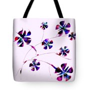 Dream Flowers Tote Bag