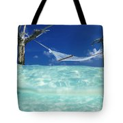 Dream Hammock. Tote Bag by Sean Davey