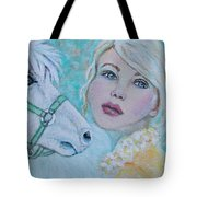 Dream On Dreamer Tote Bag by The Art With A Heart By Charlotte Phillips