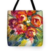 Dream Roses Tote Bag