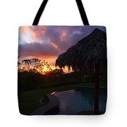 Dream Sunset In Costa Rica Tote Bag