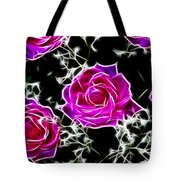 Dream With Roses Tote Bag
