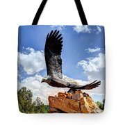 Dream Your Eagle And Fly With Him Tote Bag