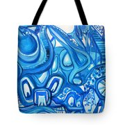 Dreaming In Blue Tote Bag