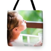 Dreaming Tote Bag by Jenny Rainbow