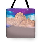 Dreaming Landscape Tote Bag by Augusta Stylianou
